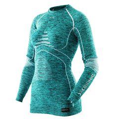 Термофутболка X-Bionic Energy Accumulator Evo Melange Lady Shirt Long Sleeves Round Neck A619 (I100668), фото 1