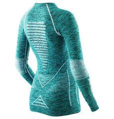Термофутболка X-Bionic Energy Accumulator Evo Melange Lady Shirt Long Sleeves Round Neck A619 (I100668), фото 2