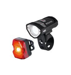 Комплект фонарей Sigma Sport BUSTER 200/NUGGET FLASH, фото 1