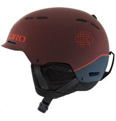 Шлем горнолыжный Giro Discord Matte Maroon/Turbulence, фото 1