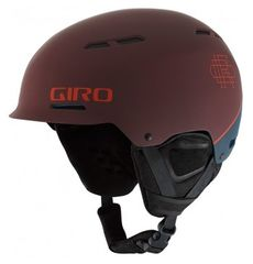 Шлем горнолыжный Giro Discord Matte Maroon/Turbulence, фото 2