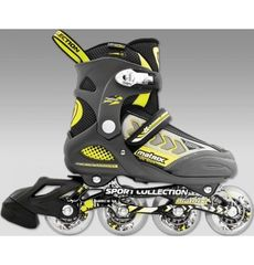 Роликовые коньки Спортивная Коллекция Matrix Delux Yellow / размер 39-42, фото 1