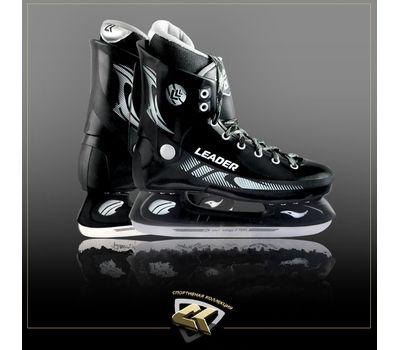Коньки хоккейные CK Leader / размер 35, фото 1