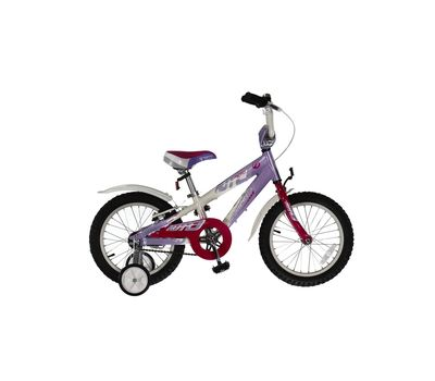 """Велосипед Comanche Moto W16 Фиолетовый-белый (рама 8""""), фото 1"""