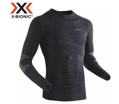 Мужская термофутболка X-Bionic Ski Touring Man Shirt Long Sleeves Round Neck X13 Black/Anthracite (I20154), фото 1
