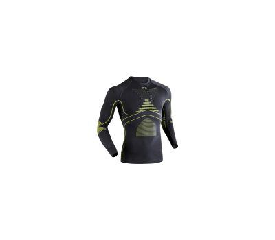 Мужская термофутболка X-Bionic Energy Accumulator Evo Man Shirt Long Sleeves Round Neck E224 Green Lime/Charcoal (I20216), фото 1
