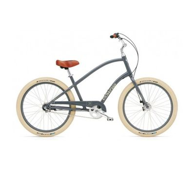 "Велосипед 26"" Electra Townie Balloon 3i Men's slate (BIC-17-22), фото 1"
