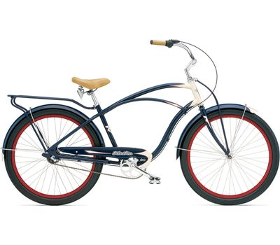 """Велосипед 26"""" Electra Super Deluxe 3i Men's navy-Cream (BIC-17-33), фото 1"""