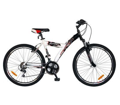 """Велосипед Comanche Ontario Fly Черный-белый (рама 18""""), фото 1"""