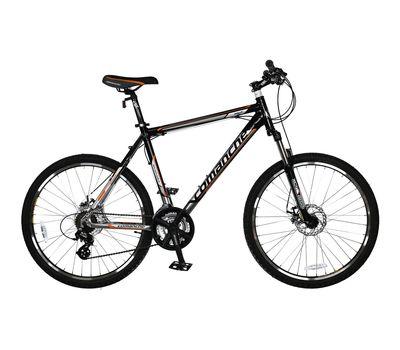 """Велосипед Comanche Niagara Disk Черный-оранжевый-стальной (рама 22""""), фото 1"""