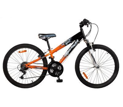 """Велосипед Comanche Indigo Черный-оранжевый (рама 11""""), фото 1"""