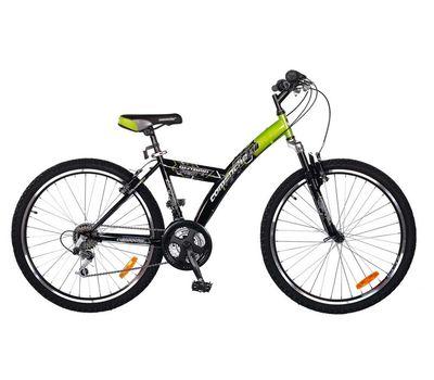"""Велосипед Comanche Ontario Fly Черный-зеленый (рама 14""""), фото 1"""