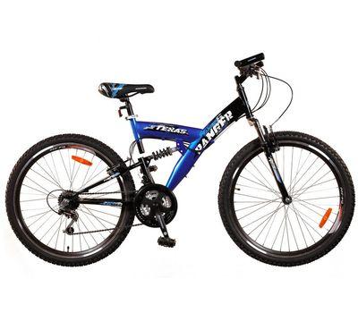 """Велосипед Ranger Texas DS Черный-синий (рама 18""""), фото 1"""