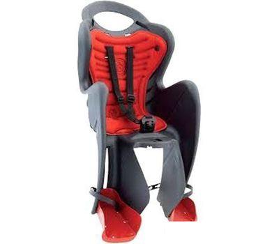 Сиденье заднее Bellelli Mr Fox Relax детское до 22кг, серый/красная подкладка (SAD-25-97), фото 1