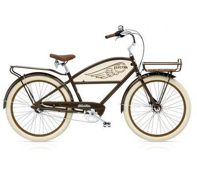 "Велосипед 26"" Electra Delivery 3i Men's Brown, фото 1"