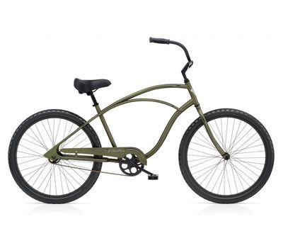 "Велосипед 26"" Electra Cruiser 1 Men's Matte Khaki (BIC-17-69), фото 1"