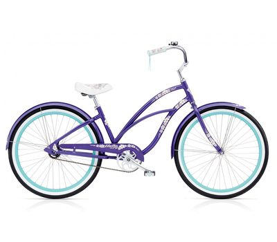 "Велосипед 24"" Electra Hawaii 3i Ladies' Purple metallic, фото 1"