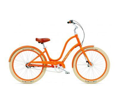 """Велосипед 26"""" Electra Townie Balloon 3i Ladies' Tangerine, фото 1"""