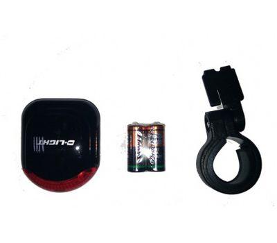Фонарь задний DLIGHT задн. CG-623R1 3 светод. +батар. (LTS-33-01), фото 1