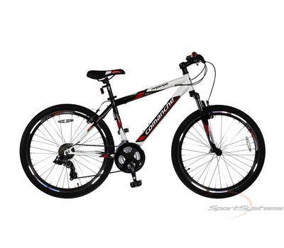 """Велосипед Comanche Prairie Белый-черный-красный (рама 17""""), фото 1"""