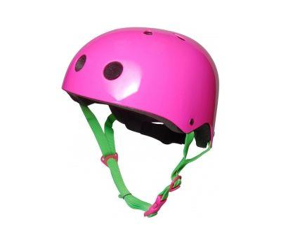 Шлем детский Kiddimoto неоновый розовый, фото 1