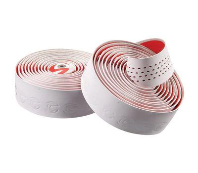 Обмотка руля Cannondale Microfiber Plus white-red (BTP-02-81), фото 1