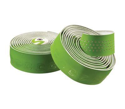 Обмотка руля Cannondale Microfiber Plus green-white (BTP-02-83), фото 1