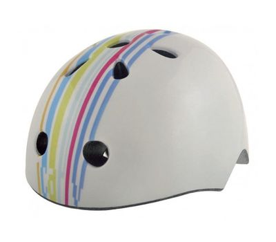 Шлем детский Bellelli STRIPS (графити бел.), фото 1