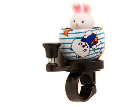 Звонок TW JH-303 Кролик, сигнал с ударным рычагом под большой палец, фото 1