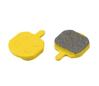 Колодки дисковые ALHONGA HJ-DS26 Hayes совместимые Sole, MX, MX2 sinter gold (BRS-05-18), фото 1