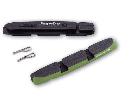 Вставки в колодки торм MTB v-br. JAGWIRE Switchback Ceramic JS90XRC (кантилеверные) (BRS-10-41), фото 1