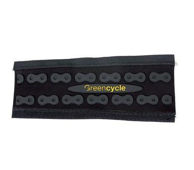 Защита пера Green Cycle GSF-007 лайкра+неопрен c выдавленным рисунком звеньев цепи 245х110х95мм (CHG-90-25), фото 1