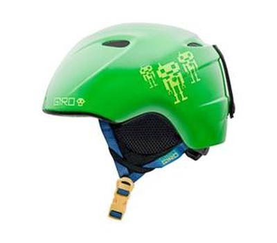 Шлем горнолыжный Giro Slingshot Green Google Bots, фото 1