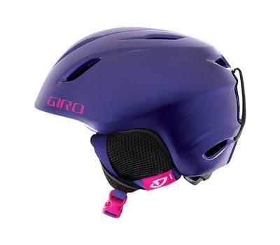 Шлем горнолыжный Giro Launch Violet Sweethearts, фото 1