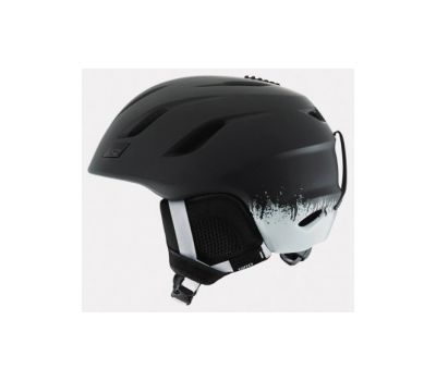 Шлем горнолыжный Giro Nine Matte Black Emulsion, фото 1