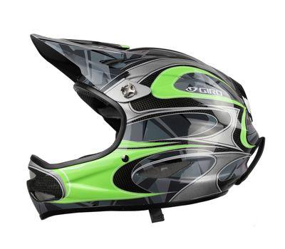 Шлем горнолыжный Giro Remedy Green Carbon, фото 1