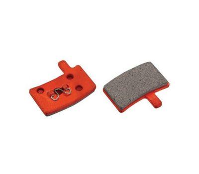 Колодки тормозные диск JAGWIRE Red Zone Comp DCA073 (2 шт) - Hayes Stroker Trail/Carbon/Gram (BRS-09-25), фото 1