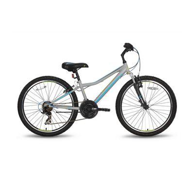 Велосипед 24'' Pride Brave 21 серо-синий матовый 2016 (SKD-15-63), фото 1