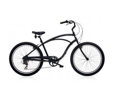 """Велосипед 26"""" Electra Cruiser Lux 7D Men's Black Matte, фото 1"""