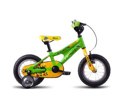 Велосипед Ghost Powerkid 12 green/yellow/red 2016, фото 1
