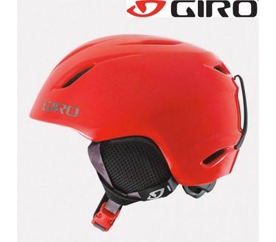 Шлем горнолыжный Giro Launch Red Glowing Cam, фото 1