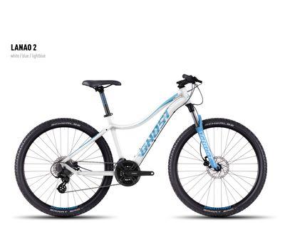 Велосипед Ghost Lanao 2 white/blue/lightblue XL 2016, фото 1