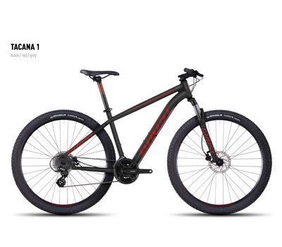 Велосипед Ghost Tacana 1 black/red/gray S 2016, фото 1