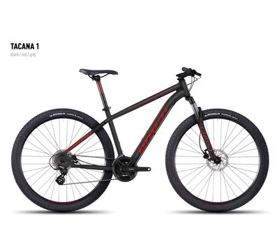 Велосипед Ghost Tacana 1 black/red/gray XS 2016, фото 1
