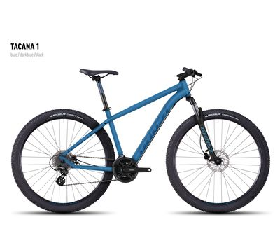 Велосипед Ghost Tacana 1 blue/darkblue/black S 2016, фото 1