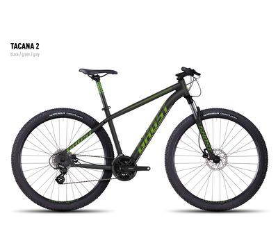 Велосипед Ghost Tacana 2 black/green/gray XS 2016, фото 1