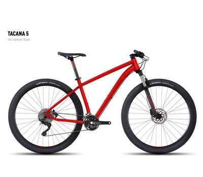 Велосипед Ghost Tacana 5 red/darkred/black S 2016, фото 1