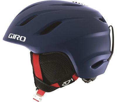 Шлем горнолыжный Giro Nine Jr Matte Blue Varsity, фото 1