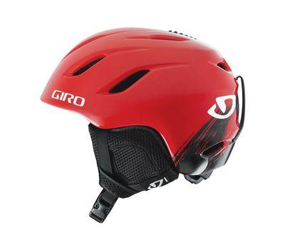 Шлем горнолыжный Giro Nine Jr Red Cosmos, фото 1