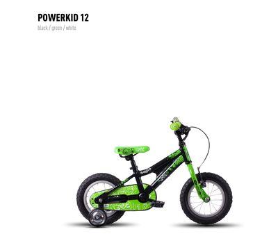 Велосипед Ghost Powerkid 12 black/green/white 2016, фото 1